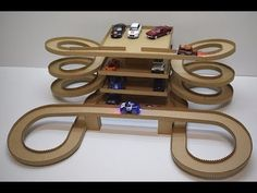 DIY Magic track with magic cars out of cardboard - YouTube