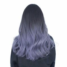 Reverse Bronde Ombre - Reverse Ombre Hair with Perfect Fades Into Browns and Blacks - The Trending Hairstyle White Ombre Hair, Reverse Ombre Hair, Ombre Hair Color, Purple Hair, Pretty Hair Color, Beautiful Hair Color, Ombré Hair, Lavender Hair, Hair Dye Colors