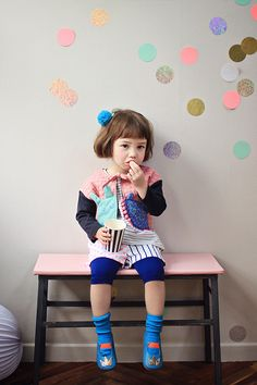 This brand is sooo cute. Too bad from 2 years ago and impossible to find. ANNIKA / Spring Summer 2014 Collection