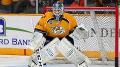 Juuse Saros content to wait his turn with Predators