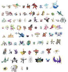 Pokémon Sonne & Mond - Alle neuen Pokémon geleakt - Vollständiger Pokédex - News auf PlayNation.de