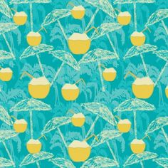 Ana Perez | Make It In Design | Surface  pattern design | Tropical Paradise