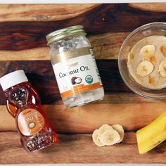 This Banana-Coconut Smoothie Doubles as a Healthy Hair Mask #beauty #diy @Montagne Jeunesse  @Influenster #FaceBeauty