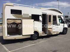 CI Sinfonia 98 XT 2017 - Camper Nuovo Semintegrale basculante garage 5 posti - Pronta consegna - Genova Camper #Camper #CaravansInternational