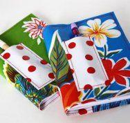 Mini Oil Cloth Notebook Covers