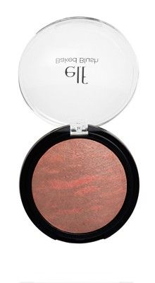 Wear this every day of late. Perfect rich but complementary color on my fair skin. Great topped onto Candid Coral of their  Studio Line which is in the same color family powder blush, for lasting power-all day. quite suhweet!!     e.l.f. Studio Baked Blush in Rich Rose  http://www.eyeslipsface.com/studio/face/blush/studio_blush