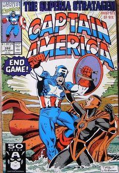 Captain America  #392 Late September  1991 Marvel Comics