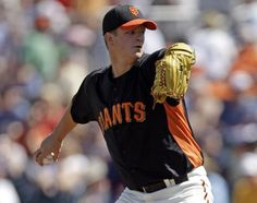 Thursday, March 29-Matt Cain pitched a good game against the Rangers, even though 2 batters managed to hit home runs in the 2nd inning, the rest of the game belonged to the GIANTS, beating Texas 6-2.