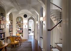 bookshelves and the millwork...beautiful