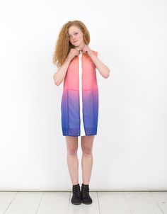 OMBRE BOX DRESS by JF & SON   JF & SON