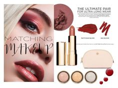 """""""matching makeup"""" by inespereira3 ❤ liked on Polyvore featuring beauty, Urban Decay, Clarins, By Terry, Tory Burch and Topshop"""