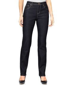 Style&co. Natural-Fit Tummy-Control Jeans, Rinse Wash - Jeans - Women - Macy's