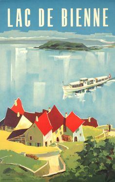 Lac de Bienne Walter Zulauf 1950