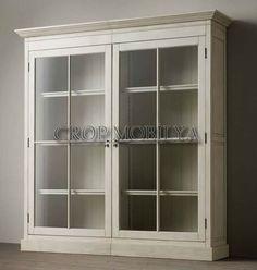 Beyaz Kapaklı Kitaplık Modelleri Armoire, Bookshelves, Bookcase, China Cabinet, Living Spaces, New Homes, Room Decor, House Design, Storage