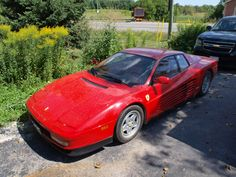 Ferrari Testerossa Before