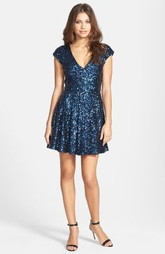 French Connection 'Spectacular Sparkle' Dress available at #Nordstrom