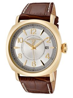 Swiss Legend Watches Men's Executive Brown & Gold Watch