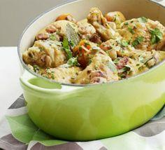 One-pot chicken & bacon stew