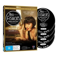 Get ready to immerse yourself in the opulent, exciting world of Australia's leading lady detective Phryne Fisher