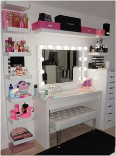 make-up room is a depiction of your individuality, this write-up will certainly . - make-up room is a depiction of your individuality, this write-up will certainly … Sie sind an der - Room Makeover, Beauty Room Decor, Home Decor, Stylish Bedroom, Apartment Decor, Makeup Room Decor, Bedroom Decor, Cute Room Decor, Girl Bedroom Decor