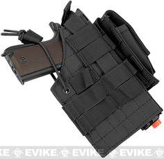 Evike.com Airsoft Guns - Tac. Gear/Apparel | Evike.com $20 Airsoft Guns - Holsters | Evike.com Airsoft Guns - Condor Ambidextrous Tactical Holster for 1911 Series - Black |