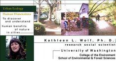 CV for Dr. Kathleen L. Wolf