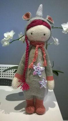 unicorn mod made by Justyna W. / based on a lalylala crochet pattern