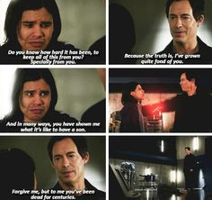 The Flash - Cisco & Wells #1x15 #Season1 WHY AM I EVEN PINNING THIS IT'S SO SAD AND IT MADE ME CRY