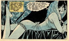 """Girls' Romances #148 - April 1970 From the story: """"I Won't Fall in Love!!"""" Art by Ric Estrada and Vince Colletta"""