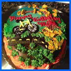 Bicycle Birthday Cake - Bittersweet Bake Shoppe - Tyngsboro , Massachusetts