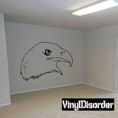 Bird Wall Decal - Vinyl Decal - Car Decal - DC002
