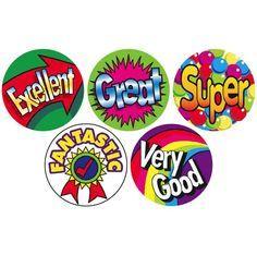 Reward Stickers, Teacher Stickers, Kids Awards, Motivation For Kids, Teachers Be Like, School Badges, Birthday Charts, Star Students, Classroom Board