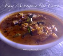 easy fish curry Easy Microwave Fish Curry