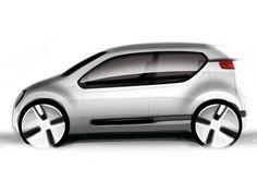 VW Up Concept design sketch