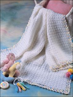 """not really sure how it works. I wish there were a pic showing this """"baby pocket"""" blanket. I mean, is the baby in the pocket or is it those blankets that fold up into a pocket? Still pretty either way!"""
