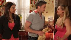 A betrayed Stella throws Karl out | Coronation Street Spoiler pics - ITV Soaps