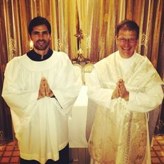 "Actor Eduardo Verastegui posts to Facebook, ""My first time serving in a Tridentine mass, it was incredible, thank you Father Geronimo. Pax Domini! #latinmass"""