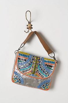 Brillo Embroidered Clutch - Anthropologie.com