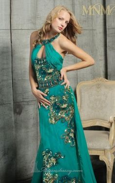 strapless evening gown couture MNM 5783 Dress