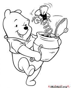 Winnie Pooh disegni da colorare_58