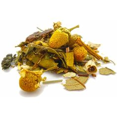 Stress reliever Tea with St John Wort Chamomile Gingko by NovaTeas