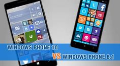 In the mid of 2015 Microsoft announced the latest version of its mobile software. So now it is the time to compare Windows Phone 10 and Windows Phone 8.1 to