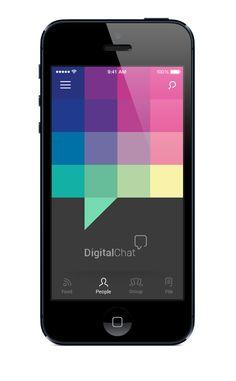 Digital Chat on Behance