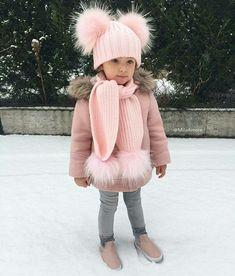 Fashion Kids, Toddler Winter Fashion, Little Girl Fashion, Babies Fashion, Fashion Wear, Fashion Clothes, Fashion Beauty, Fashion Dresses, Fashion Jewelry