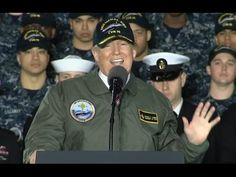 Trump Speaks On Major Military Buildup Aboard USS Gerald R. Ford