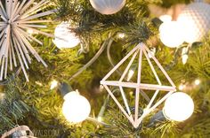 How To Make A Basic Geometric Himmeli Ornament
