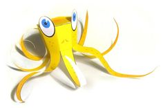 Simple Octopus Free Papercraft Download - http://www.papercraftsquare.com/simple-octopus-free-papercraft-download.html#Octopus