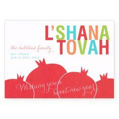 custom rosh hashanah cards