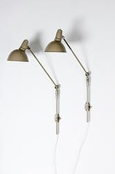 Triplex industrial lamps by Johan Petter Johansson, early 1900s.  From Retropia. www.retropia.se