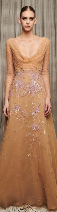 Shrouded in mystery, yet surrounded by light, Maison George Hobeika's Ready-to-Wear collection for Fall/Winter delves deep into the Georges Hobeika, Fashion Show, Fashion Trends, Her Style, Ball Gowns, Ready To Wear, Women Wear, Vogue, Classy